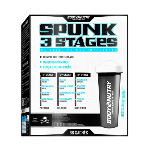 Spunk 3 Stages